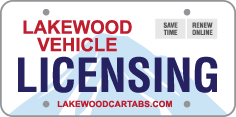 Lakewood Vehicle Licensing